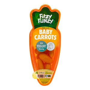 اسنک بچه هویج با سس ماست ، خرید هویج کوچک