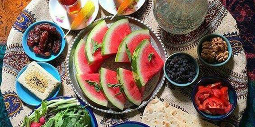 میوهها و سبزیجات مفید در ماه رمضان