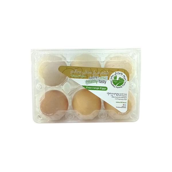 تخم مرغ محلی