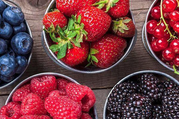توت میوه تابستان