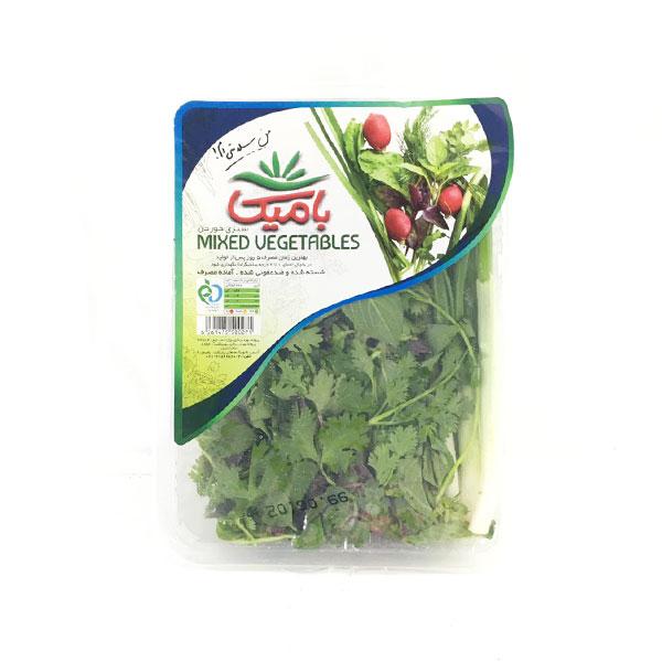 خرید سبزی خوردن بامیکا