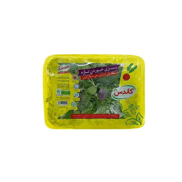 سبزی خوردن تازه
