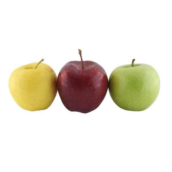 انواع سیب در ایران - خرید سیب سه رنگ