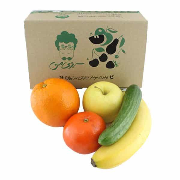 خرید پک پذیرایی میوه - خرید پک میوه یک نفره
