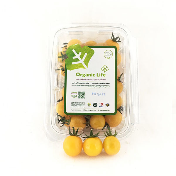 خرید گوجه گیلاسی زرد ارگانیک - خرید آنلاین گوجه گیلاسی زرد ارگانیک