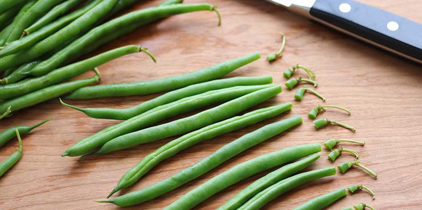 خرید آنلاین لوبیا سبز خرد شده تازه