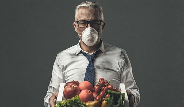 تغذیه مناسب در هوای آلوده
